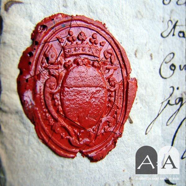 abbaye-saint-amant-de-boixe-histoire-sceau