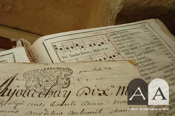 Abbaye Saint Amant de Boixe histoire