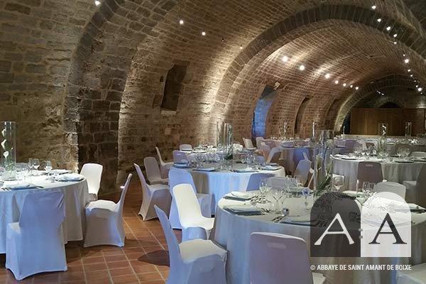 Abbaye Saint Amant de Boixe location salle