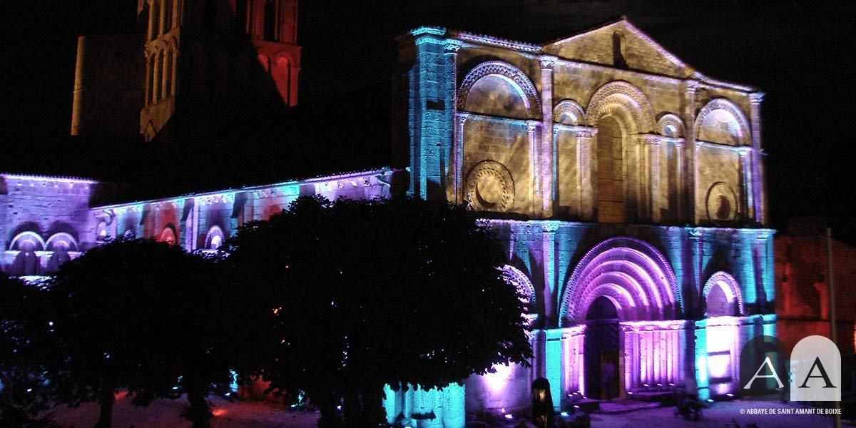 abbaye-saint-amant-de-boixe-manifestation-culturelle-spectacle-lumieres
